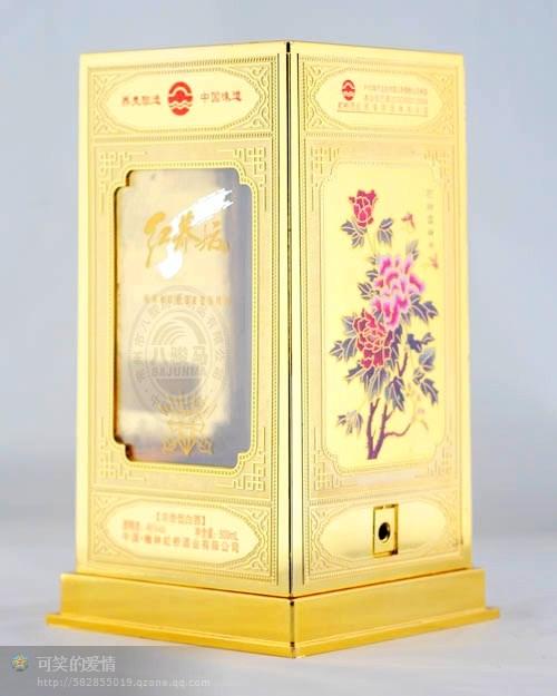 亚克力透明白酒盒2