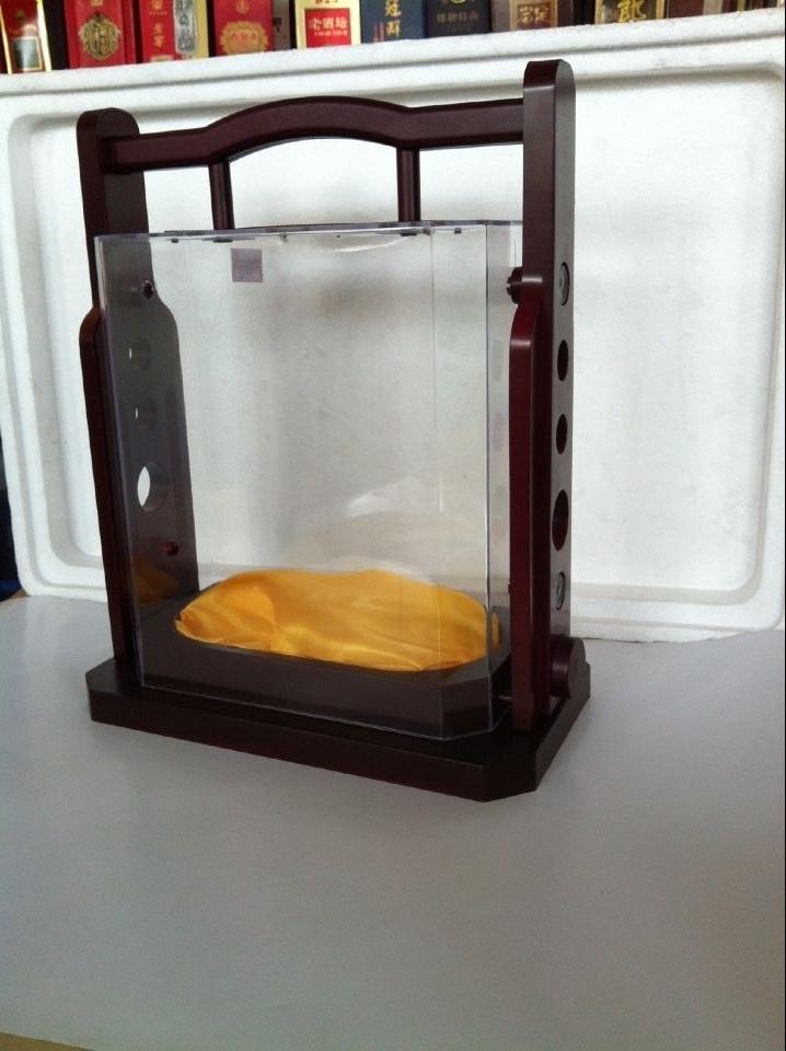 亚克力透明白酒盒6