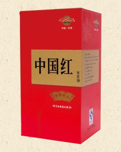 白酒木盒pvc12