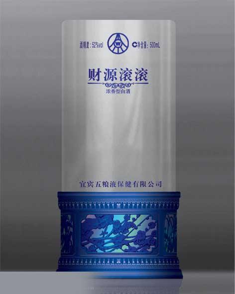 亚克力白酒透明盒