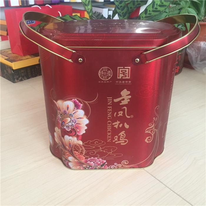 金凤扒鸡铁盒