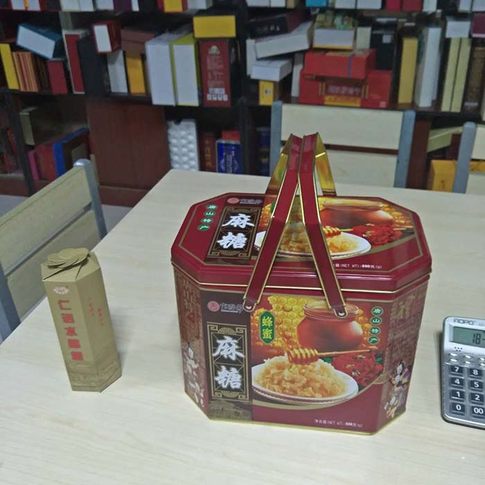 梅花手提铁桶包装盒