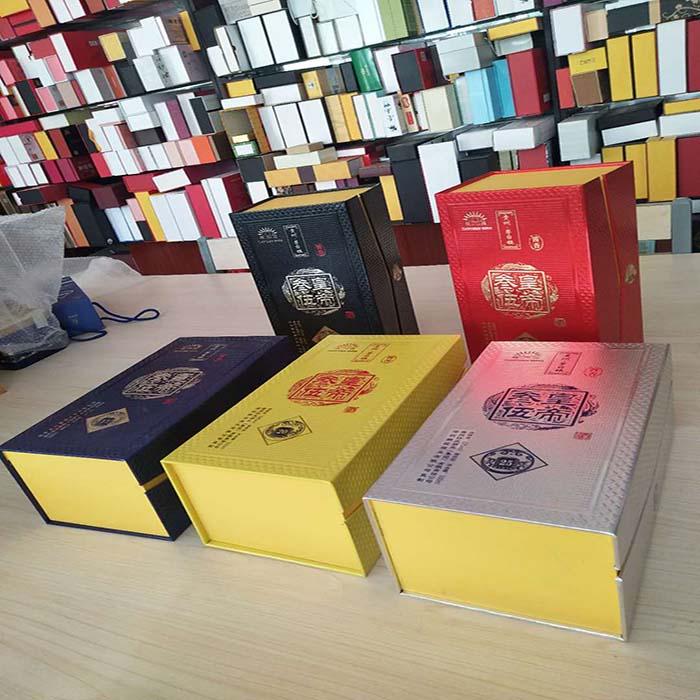 三皇五帝林海老窖双蛇酒精裱盒