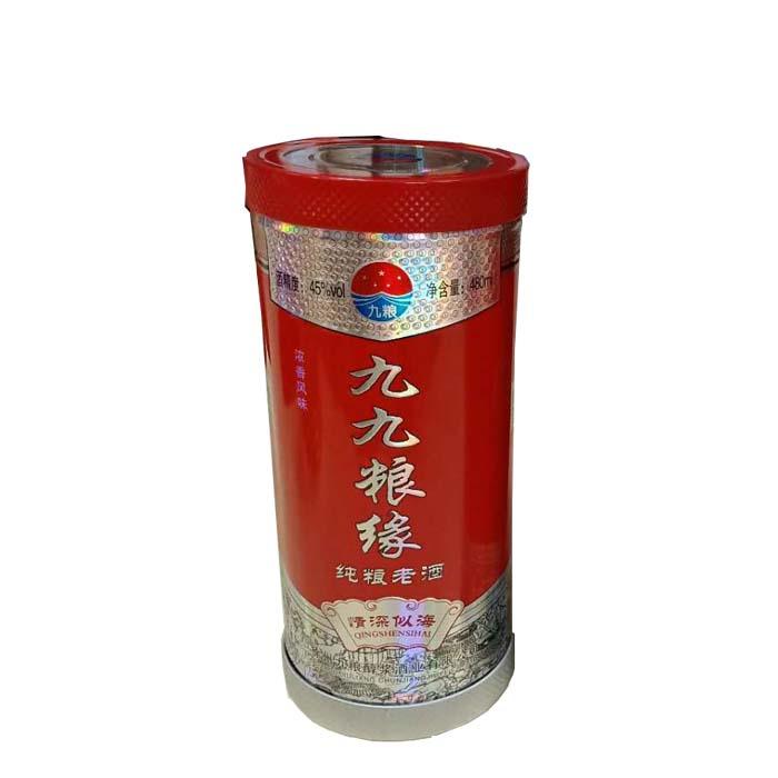 新型圆形白酒铁盒包装厂家供应支持订做